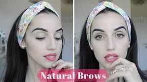 beginners makeup tips tricks how to natural eyebrow tutorial you