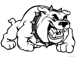 friendly bulldog mascot clipart. Interesting Mascot Banner Royalty Free Stock Bulldog Mascot Clipart Clipartblack Com Animal  In Friendly Mascot Clipart W