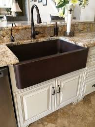 hammered copper farmhouse sink. Hammered Copper Farm Sink, Moen Oil Rubbed Bronze Touch Less Faucet. Farmhouse Sink S