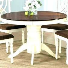 48 round dining table with leaves tables teak patio cherry inch expandable for large home design