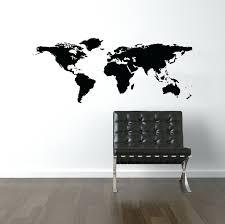 john wayne wall decal world map wall decal world map decal world decal travel world map