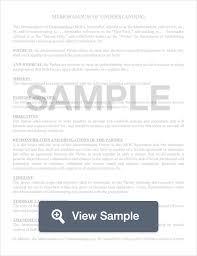 Memorandum Of Understanding: Create & Download For Free | Formswift