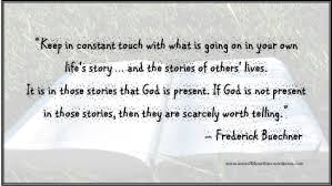 Frederick Buechner Quotes Amazing Frederick Buechner Christian Music And Inspirational Quotes