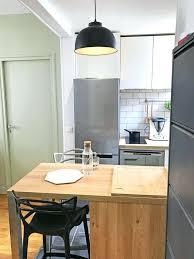 Cuisine Table Escamotable En Cuisinella Stratifiac Pour De Cuis