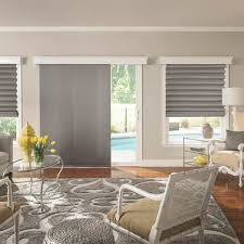 attractive roman shades for sliding glass doors and best 25 sliding door shades ideas on home
