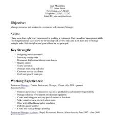 Restaurant Manager Resume Sample Free Restaurant Manager Resume Sample Free Fred Resumes 24