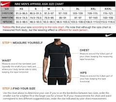 Nike Compression Shirt Size Chart Original Nike Mens T Shirts Shirt Long Sleeve Sportswear