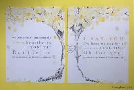 1st wedding anniversary gift ideas paper anniversary print