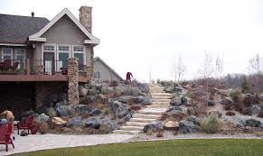 landscape boulders large rocks for