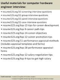 Top   computer hardware engineer resume samples