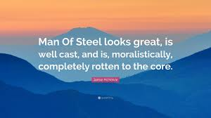 """Man Of Steel Quotes Jamie McKelvie Quote """"Man Of Steel looks great is well cast and 23"""