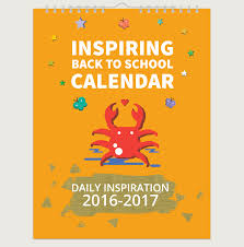 How To Make A School Calendar 3 Cute Calendars With Inspiring Quotes That Will Make You