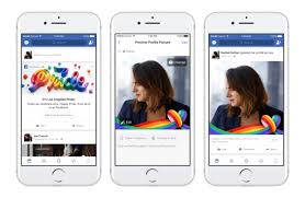 facebook celebrates pride month with rainbow reaction frames and filters