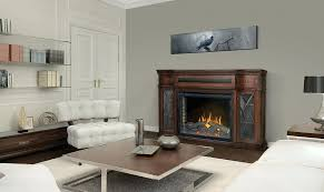 napoleon fireplaces grand canyon stacked stone infrared electric fireplace cabinet mantel package