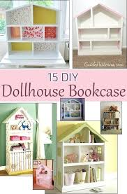 homemade doll furniture. Homemade Dollhouse Ideas Ways To Build A Bookcase Easy Diy Furniture . Doll
