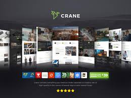 Crane Theme - Highly Customizable Multi-Purpose WordPress Theme