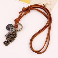 this cowhide necklace is really nice quite inexpensive too