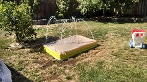 picture of backyard recirculating splash pad