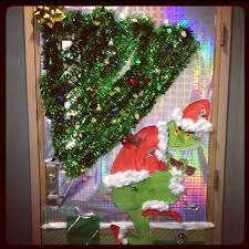 christmas office door decorating. Photos Of Grinch Office Door Decorations Christmas Decorating