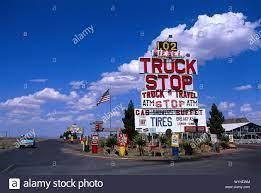 Truck Stop, Van Horn, Texas USA ...