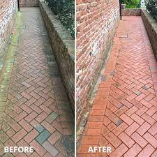 domestic driveway and patio cleaning