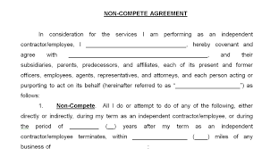 non compete agreement employee resume example non compete agreement employee employee non compete non competition contract non compete agreement easy paralegal