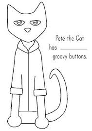 Small Picture Pete the Cat and His Four Groovy Buttons Coloring page KT