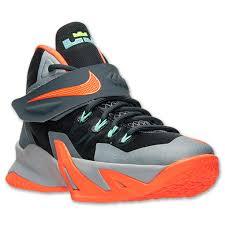 lebron 8 soldier. kids\u0027 grade school nike zoom lebron soldier 8 basketball shoes | finish line dark lebron -