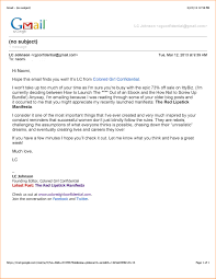 Professional Business Email Examples Oyle Kalakaari Co