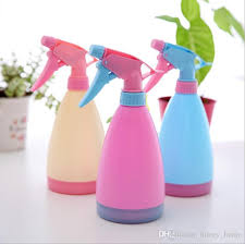 Decorative Spray Bottle Garden Decorative Water Cans Plastic Spray Bottles Watering Pot 76