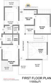 Modern House Elevation   Sq  Ft    a taste in heavenModern House Elevation First Floor Plan   Sq M   Sq  Ft
