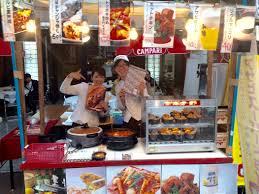 広島夏祭りとうかさんボクデン屋台登場でーす 広島市の韓国料理