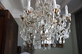 italian crystal macaroni beaded chandelier melissa levinson jpg 768x512 chandelier 1930s