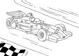 Kleurplaat Formule 1 Race Wagen Afb 27177 Images