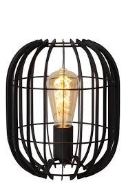 reda table lamp e27 black