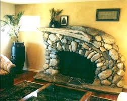 rock fireplace ideas indoor stone fireplace ideas river rock fireplace in by lots more designs of