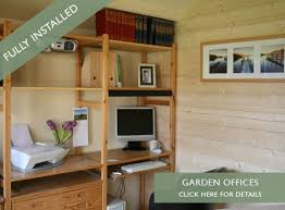 Small Picture Garden Offices Log cabin kits leading Garden Office Room suppliers