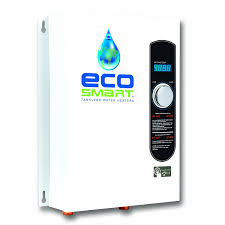 Whole House Water Heater Ecosmart Eco 18 Electric Tankless Water Heater 18 Kw At 240 Volts