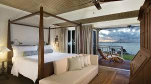 On Suite Bedroom The St Regis Mauritius Resort Luxury Accommodation