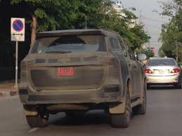 new car 2016 thaiIndiabound 2016 Toyota Fortuner spotted in Thailand