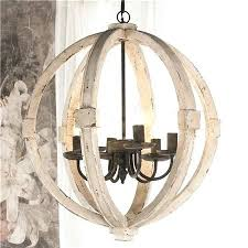 distressed wood chandelier french country distressed white wood chandelier