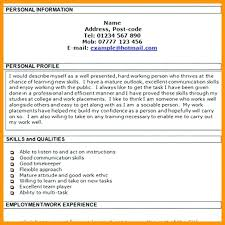 Personal Profile In Resume Example. Example Cv Profile Manqal ...
