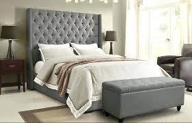 white and grey headboard luxury grey headboard bed alder tall linen bedroom idea frame bedside table white and grey headboard