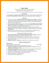 Chemist Resume Stunning Chemist Resume Objective Examples Letter Student Research And
