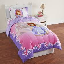 image of disney sofia the first toddler bedding