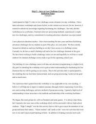 Reflection Essay On A Class Surfingmadonna Org