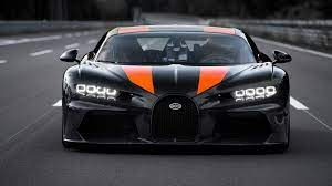 Bugatti claims that the chiron makes the dash from zero to 60 mph in a mere 2.3 seconds, and it has a top speed of 261 mph. Bugatti Explains Why Longtail Chiron Hit 304 Mph In Only One Direction