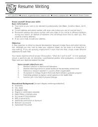 College Student Sample Resume Examples Entry Level Jobs For