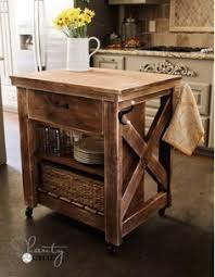 Small Picture DIY Kitchen Island FREE Plans Mobile kitchen island Tutorials