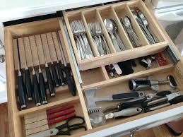 kitchen knife drawer organizer kitchen knives drawer organizer